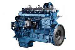 SY128TAB26 Standy Power 260KW 6-Cylinder Diesel Engine