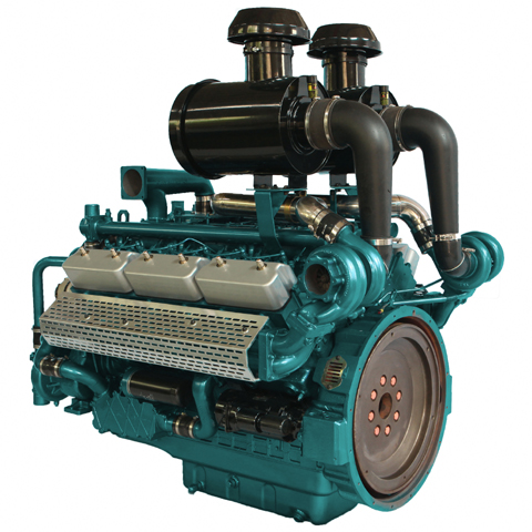 SMG266TAD63 Standby Power 630KW 12-Cylinder Diesel Engine